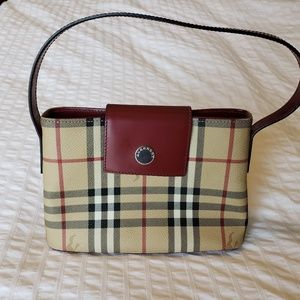 Burberry vintage check mini bag